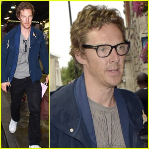 Benedict Cumberbatch Starts Rehearsals for West End 'Hamlet'
