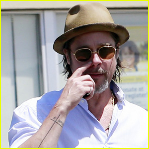 Brad pitt steps out with bruised face at autism speaks event brad