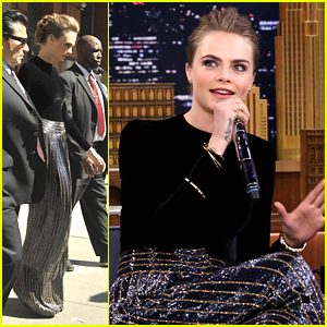 Cara Delevingne Drops Sick Beatboxing Skills On 'Tonight Show' - Watch Now!