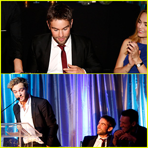 Chace Crawford Celebrates 30th Birthday with Co-Star Rebecca Rittenhouse By His Side!