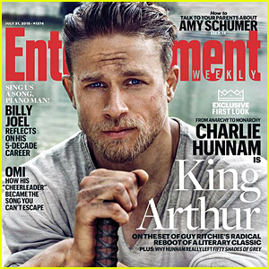 See Charlie Hunnam as King Arthur in This Smoldering First Look Pic!