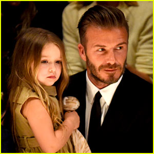 David Beckham Gets New Tattoo for Daughter Ha