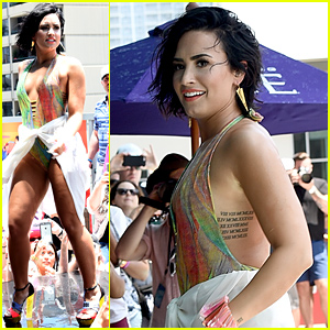 Demi Lovato Takes a Nasty Fall at Her 'Cool For the Summer' Party (Video)