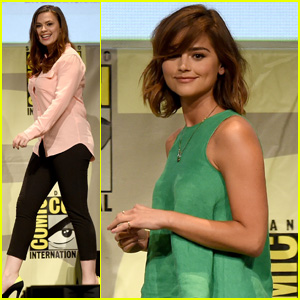 Hayley Atwell & Jenna Coleman Are Kick-Ass Women at Comic Con 2015!