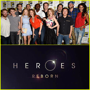 'Heroes Reborn' Comic-Con 2015 Trailer Debuts - Watch Now!