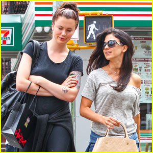 a2a11bd5fc Ireland Baldwin Towers Over Stepmom Hilaria in New York City