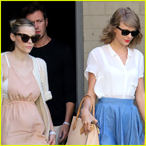 Jaime King Makes First Post-Baby Appearance with Taylor Swift