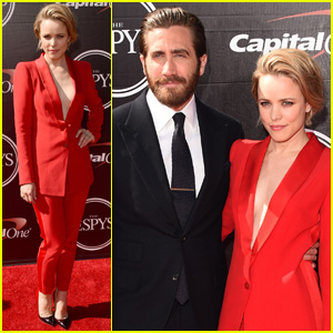 Rachel McAdams & Jake Gyllenhaal Pair Up for ESPYs 2015!