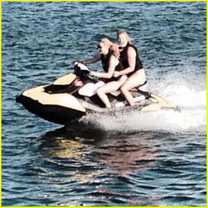 Jennifer Lawrence & Amy Schumer Go Jet-Skiing Together!