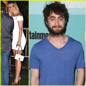 Jennifer Lawrence & Daniel Radcliffe Party at Comic-Con 2015