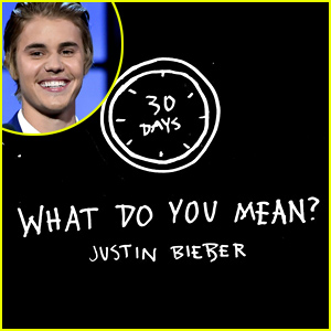 Justin Bieber Announces New Single 'What Do You Mean'! (V