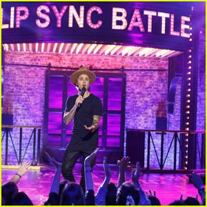 Watch Justin Bieber Sing 'Big Girls Don't Cry' on 'Lip Sync Battle'