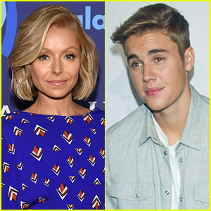 Justin Bieber Fawns Over Kelly Ripa's Lingerie Photo - See Her Response!