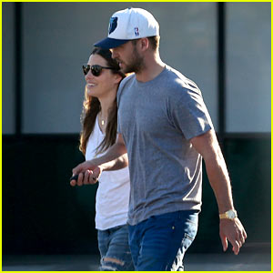 Justin Timberlake & Jessica Biel Spotted Together for First Time Since Baby Silas' Birth!