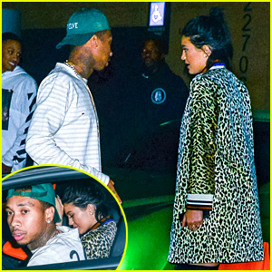 Kylie Jenner Dines Out with Tyga After His Alleged Affair