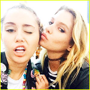 Miley Cyrus Spotted Making Out with Victoria