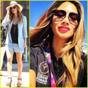 Nicole Scherzinger Spends 'Inspiring' Day at Special Olympics