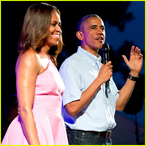 President Obama & First Lady Michelle Introduce Bruno Mars for Fourth of July Performance at the White House