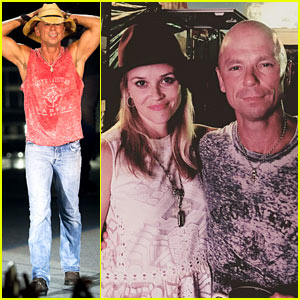 Reese Witherspoon Gets Country at Kenny Chesney Concert!