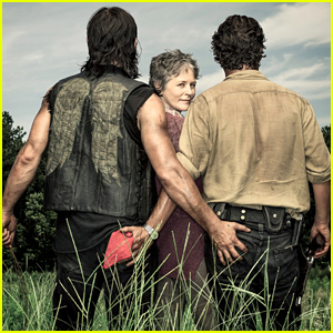 Andrew Lincoln & Norman Reedus Touch Each Other's Butt In This Funny 'Walking Dead' Photo!