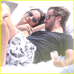 Scott Disick & Ex-Girlfriend Chloe Bartoli Get Cozy in Monac