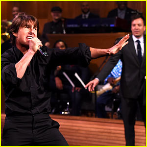 Tom Cruise's Lip Sync Battle with Jimmy Fallon - Watch Now!