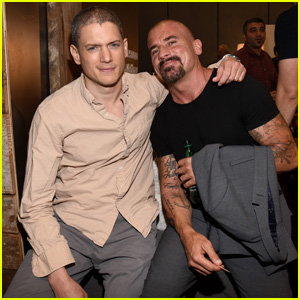 Wentworth Miller & Dominic Purcell Bring 'Legends of Tomorrow' to Comic-Con 2015!