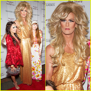 Alexander Skarsgard Dresses In Full Drag for 'T