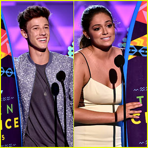 Cameron Dallas & Bethony Mota Are the Teen Choice Web Stars!