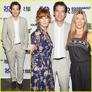 Clive Owen & 'Old Times' Broadway Cast Meet The Press!