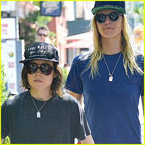 Ellen Page Steps Out With Rumored Girlfriend Samantha Thomas
