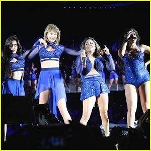Taylor Swift Performs 'Worth It' With Fifth Harmony At Santa Clara Concert - Watch Now!