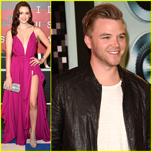 Brett Davern & Greer Grammer Are Anything But 'Awkward' At MTV VMAs