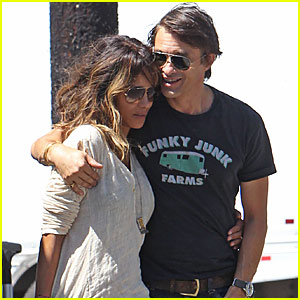 Halle Berry & Olivier Martinez Lunch Togeth