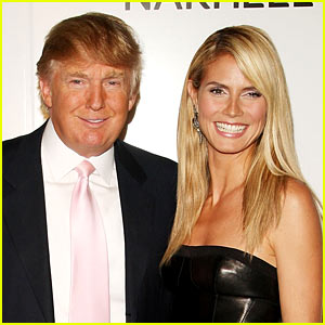 Heidi Klum Mocks Donald Trump After He Says She's Not a 10
