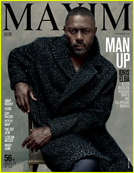 Idris Elba Is Maxim's First Solo Male Cover Star!