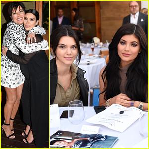 The Kardashian & Jenner Families Celebrate Kris Jenner's 'Haute Li
