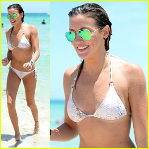 Katie Cassidy Shows Off Bikini Body During R&R Time In Miami