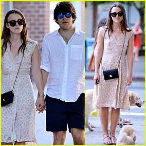Keira Knightley Shows Off Post-Baby Bod On Stroll W