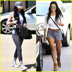 Kylie Jenner & Kourtney Kardashian Get Their Shop On!