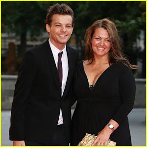 Louis Tomlinson Brings Mom Johannah Deakin to Charity Ball!