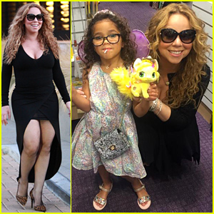 Mariah Carey's Daughter Monroe Gets Her Ears Pierced - See the Pic!