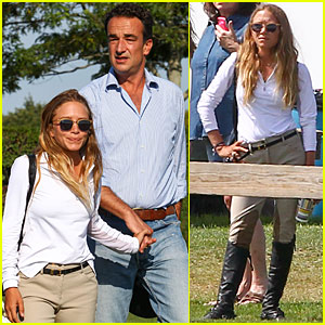 Mary-Kate Olsen Is a Hamptons Horseback Rider With Beau Olivier Sarkozy