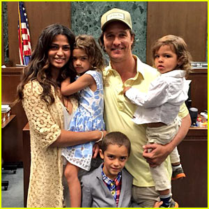 Matthew McConaughey's Wife Camila Alves Becomes an America