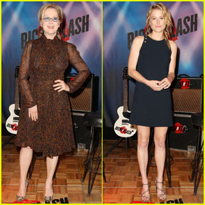 Meryl Streep & Daughter Mamie Gummer Promote 'Ricki & the Flash' in New York City