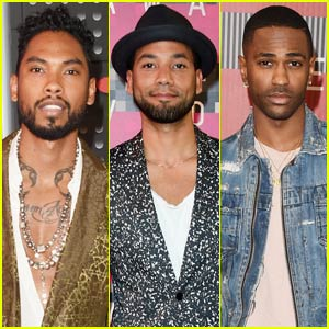 Miguel & Jussie Smollet Are Two Hot MTV VMAs 2015 Guys