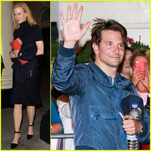 Nicole Kidman Checks Out Bradley Cooper in 'Elephant Man'!