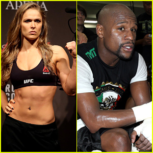 UFC Fighter Ronda Rousey Takes Jab at Floyd Mayweather
