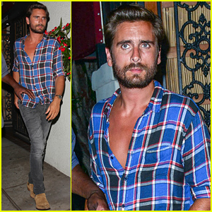 Scott Disick Partied with Leonardo DiCaprio Over the Weekend