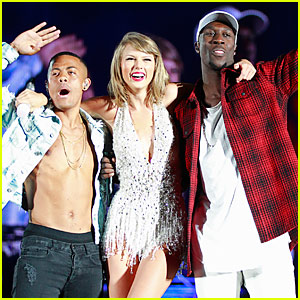 Taylor Swift Brings Nico & Vinz On Stage to Perform 'Am I Wrong'